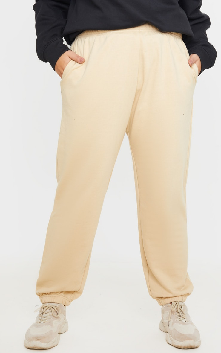 Plus Stone Casual Fit Joggers 3