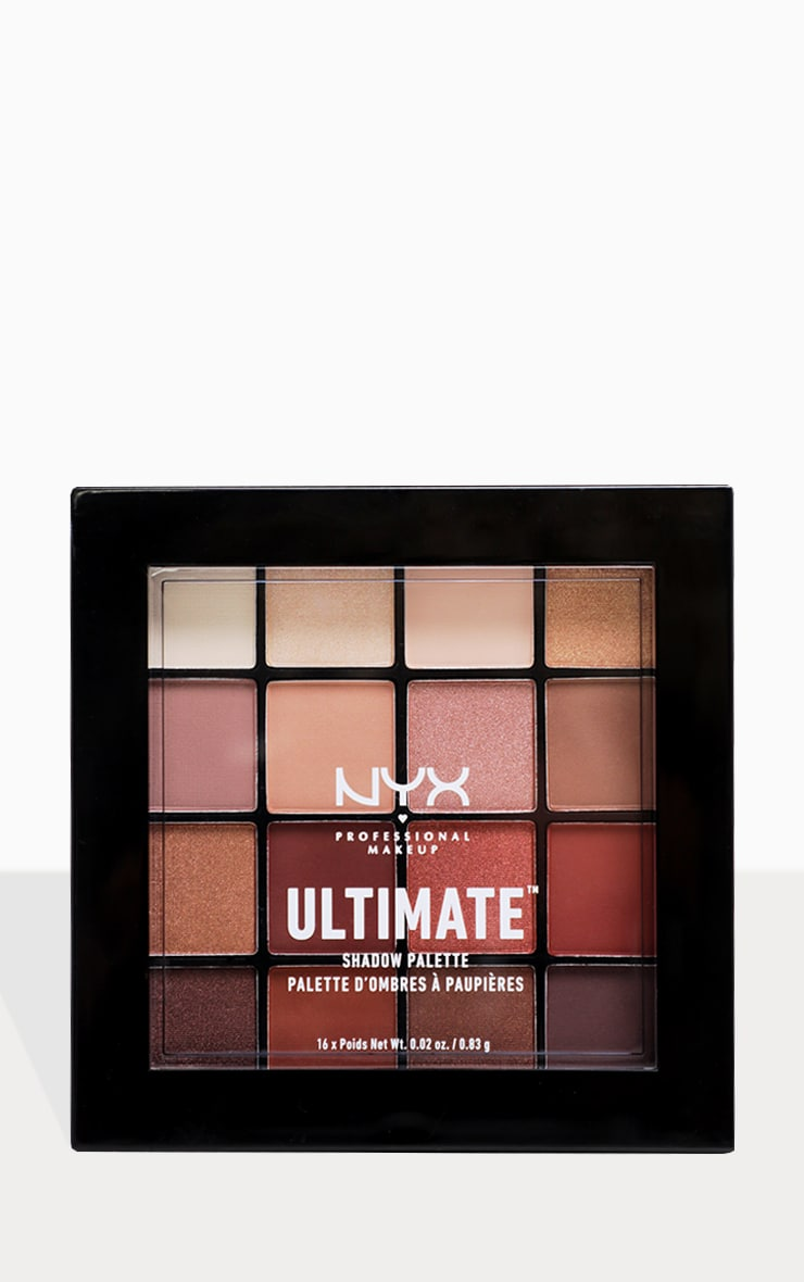 NYX PMU Ultimate Shadow Palette Warm Neutrals 3