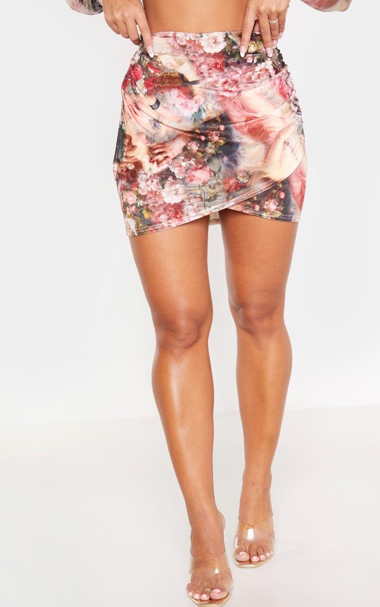 Stone Renaissance Velvet Wrap Skirt 2