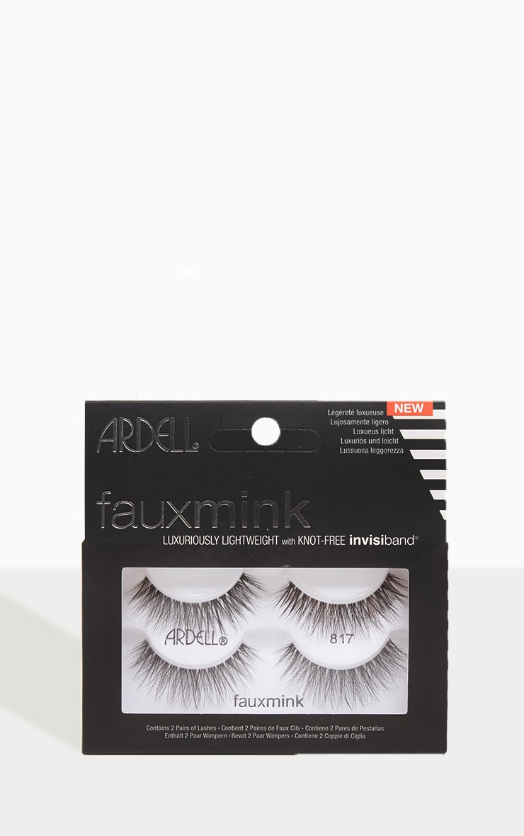 83c68dd7a9d Ardell Lashes Faux Mink 817 Twin Pack | PrettyLittleThing USA