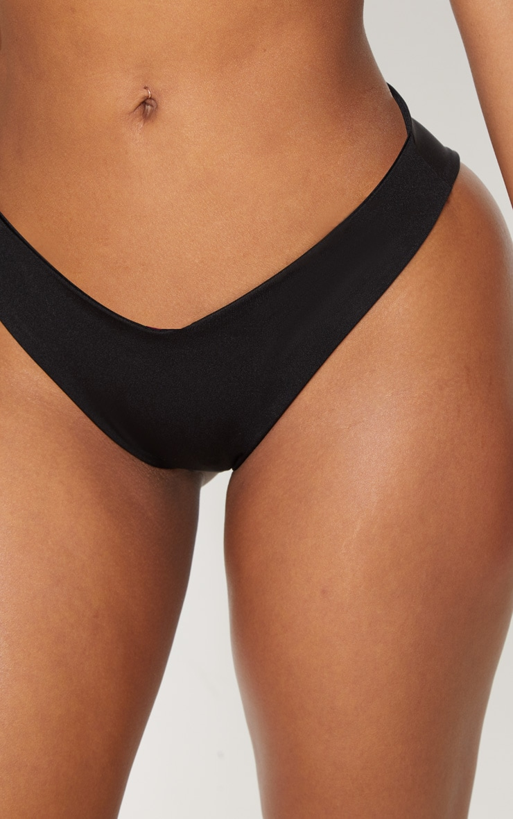 Shape Black Tiny Bikini Bottom 6