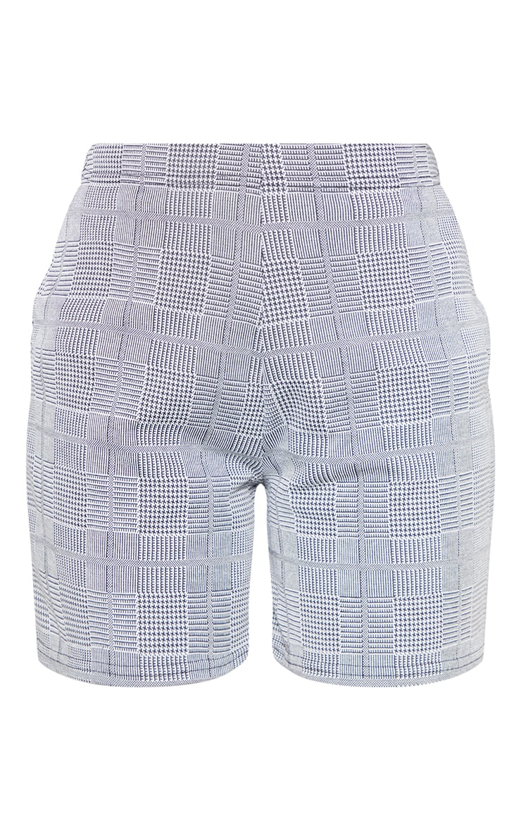 Grey Check Tailored Short 3