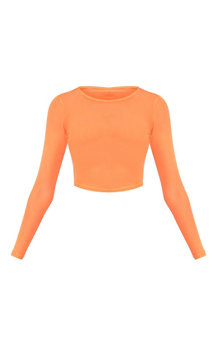 Orange 3 Piece Bikini Set 3