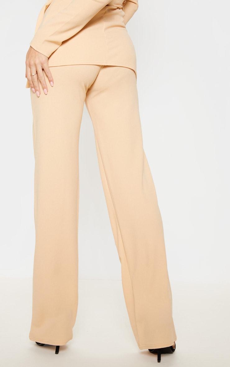 Stone Crepe Straight Leg Pants 3