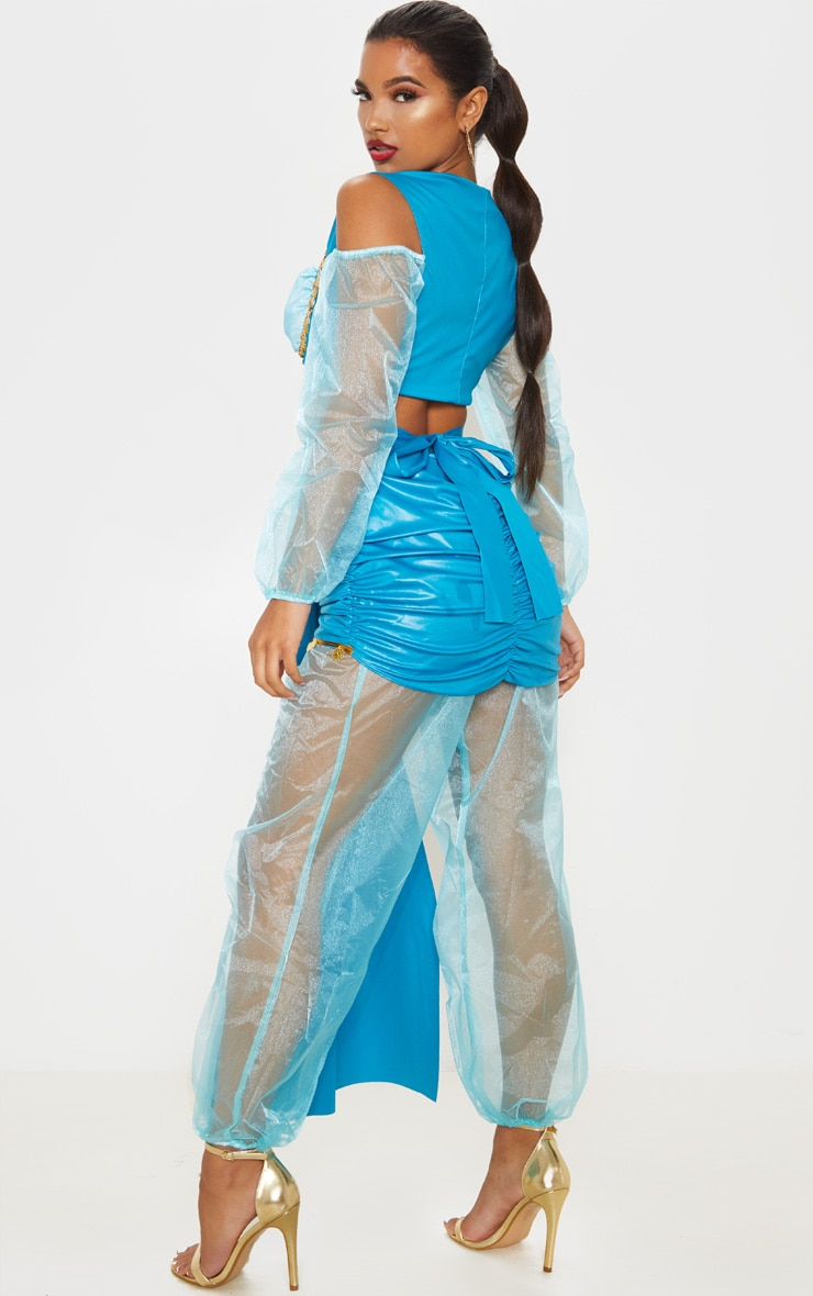 Premium Arabian Princess Costume 2