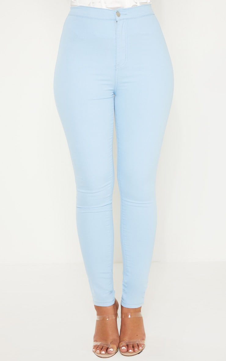 Light Wash Denim Jegging 2