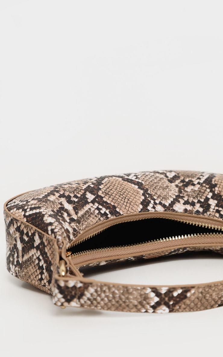 Natural Snake Mini Shoulder Bag 3