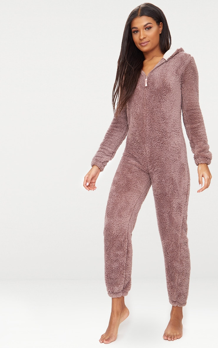 Brown Reindeer Onesie 3
