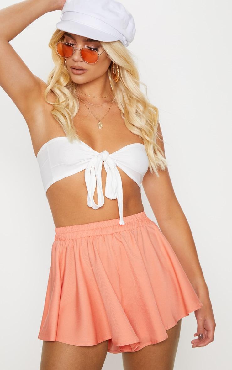 Peach Floaty Shorts