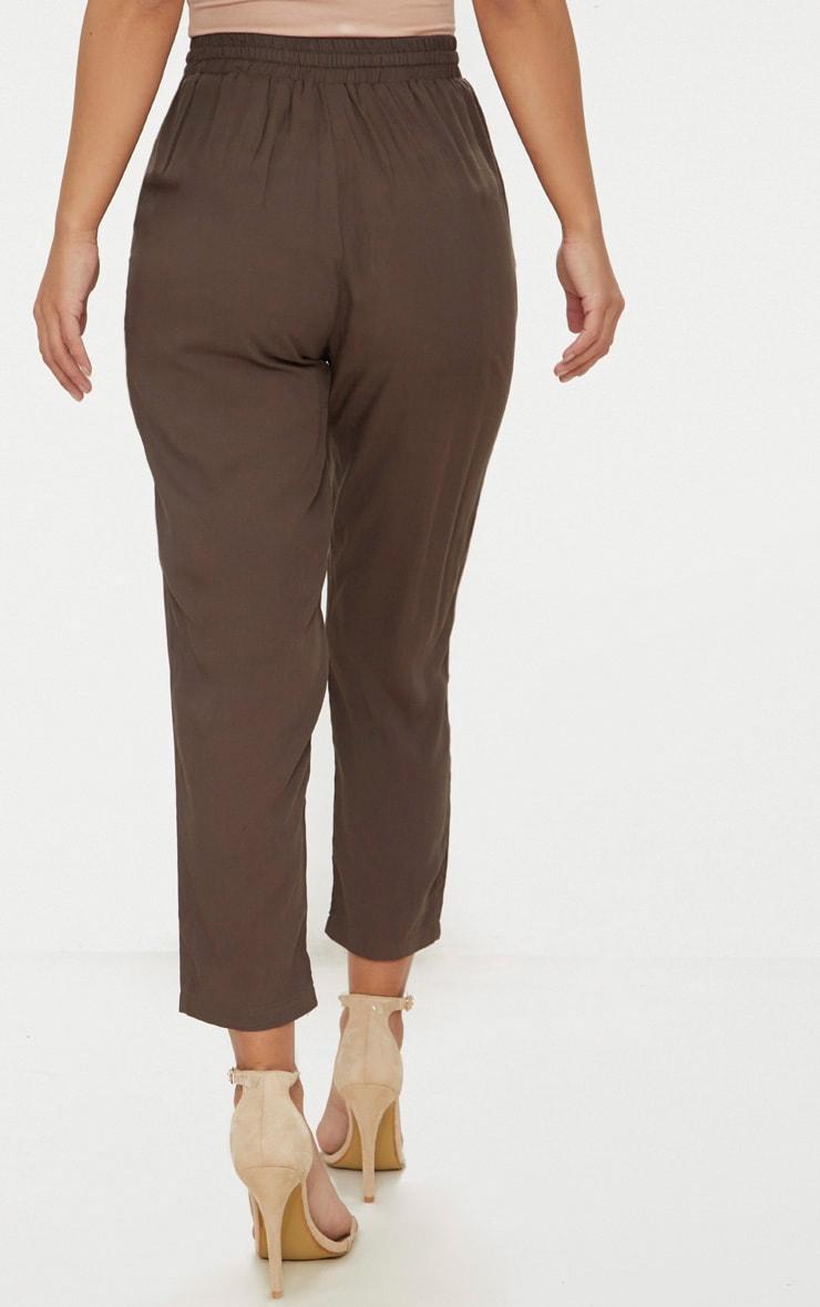 Petite Khaki Casual Pants  4