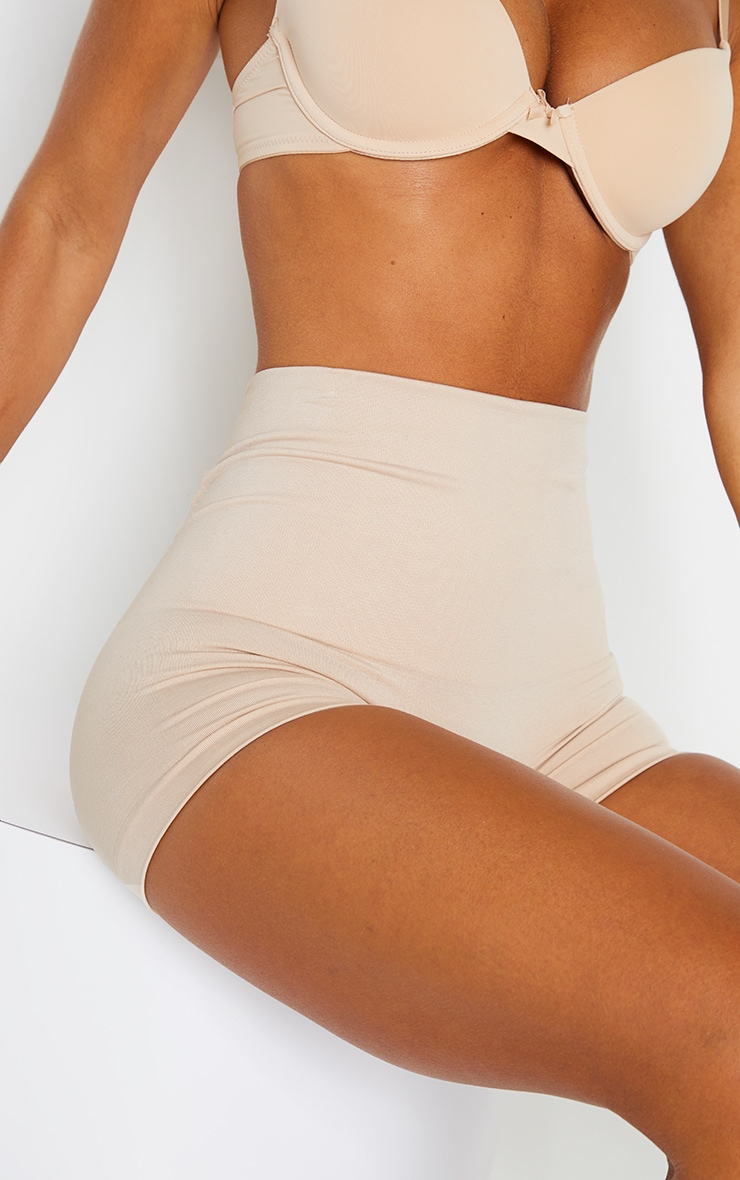 Nude High Waisted Shapewear Shorts 5