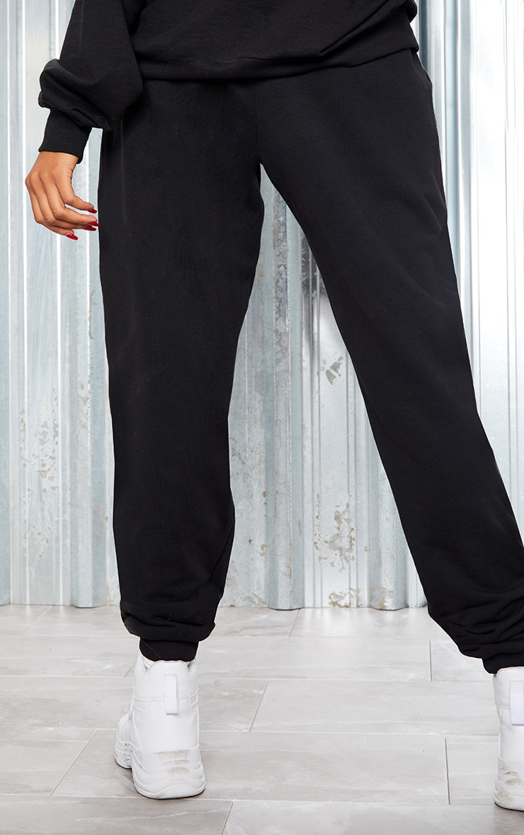 KARL KANI Black Embroidered Joggers 6