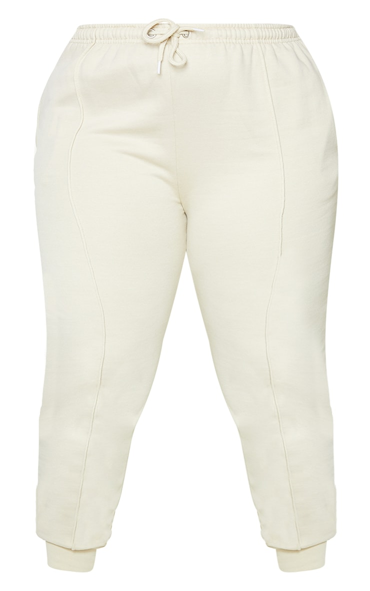 Plus Stone Washed Piping Joggers 5