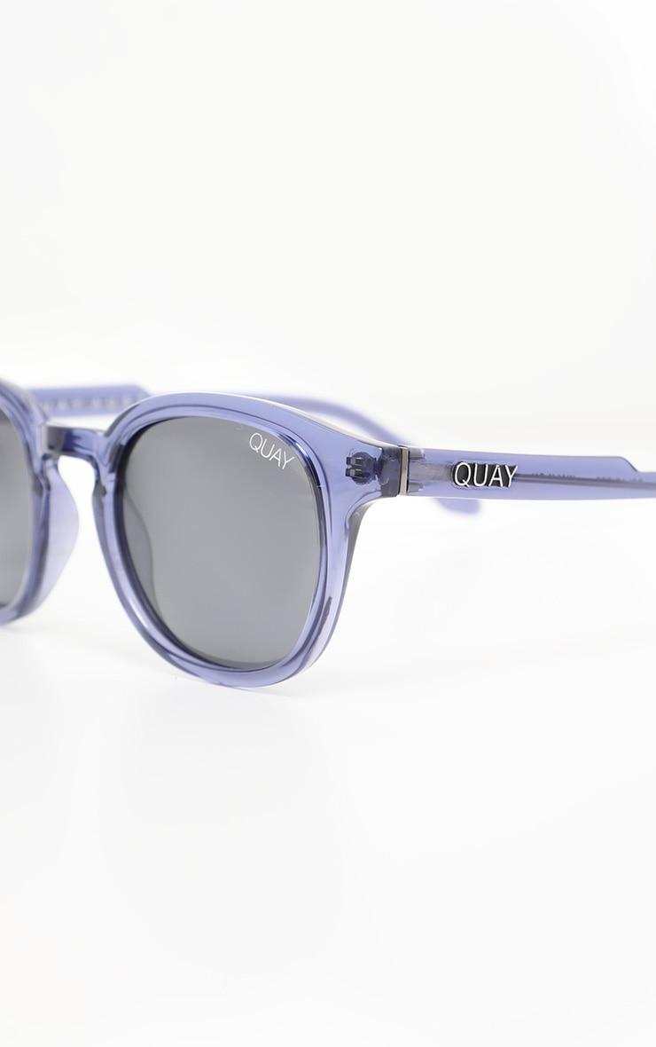 QUAY AUSTRALIA Blue Walk On Sunglasses 3