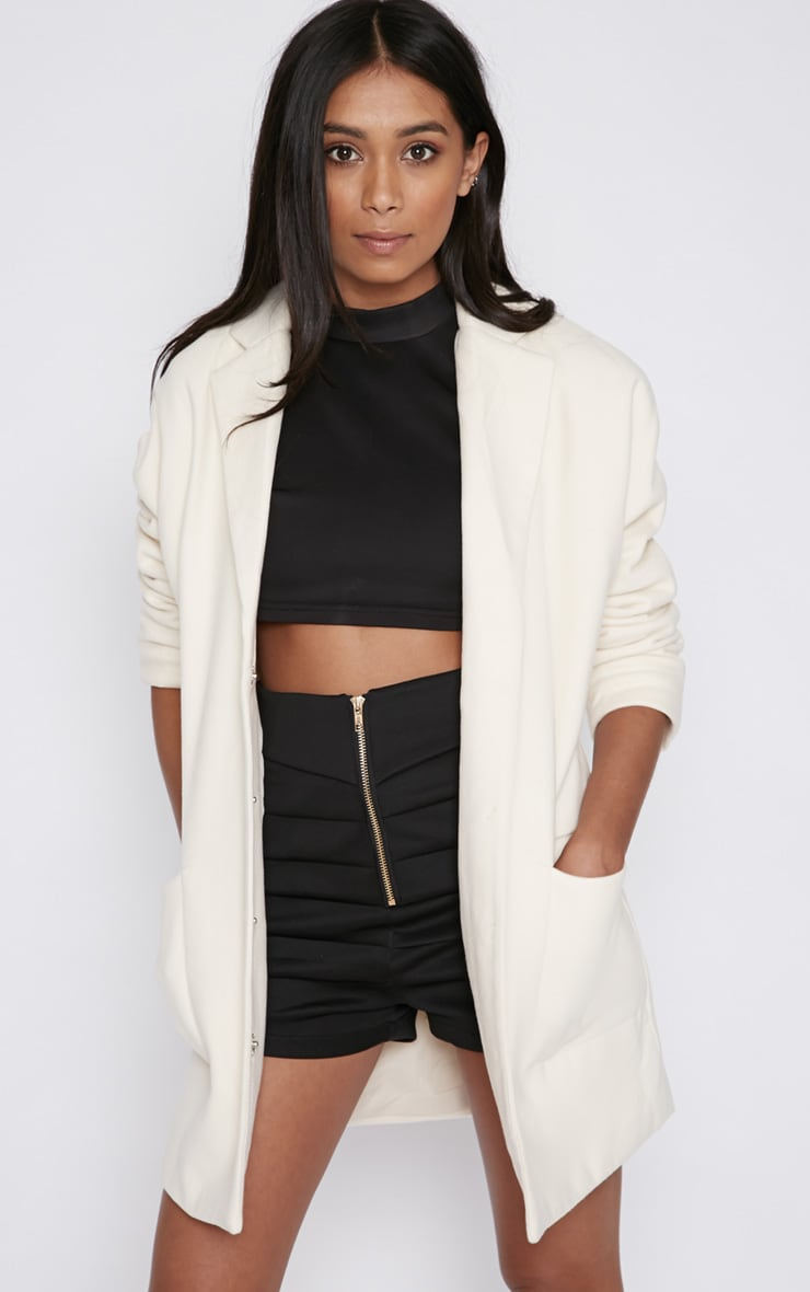Hope Cream Boyfriend Coat  5