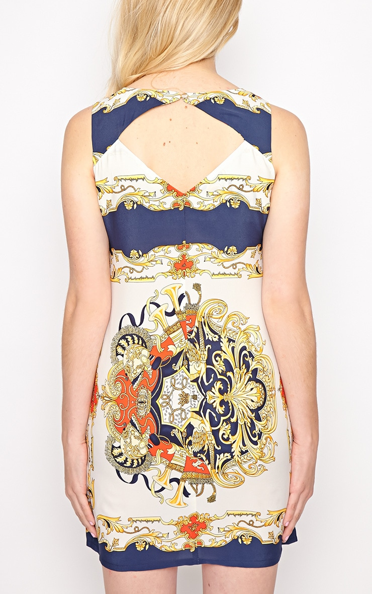 Margot Regal Print Shift Dress 2