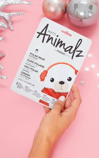 Holiday Animalz Sheet Mask Polar Bear