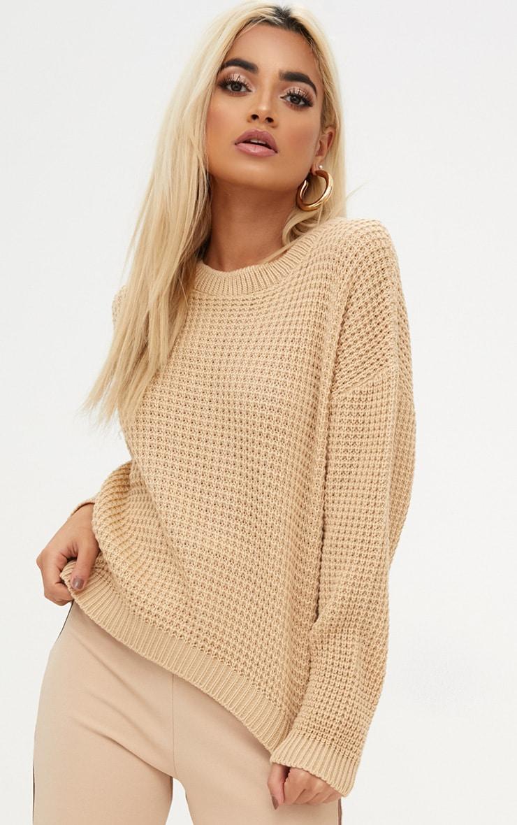 Stone Basic Knitted Jumper 1