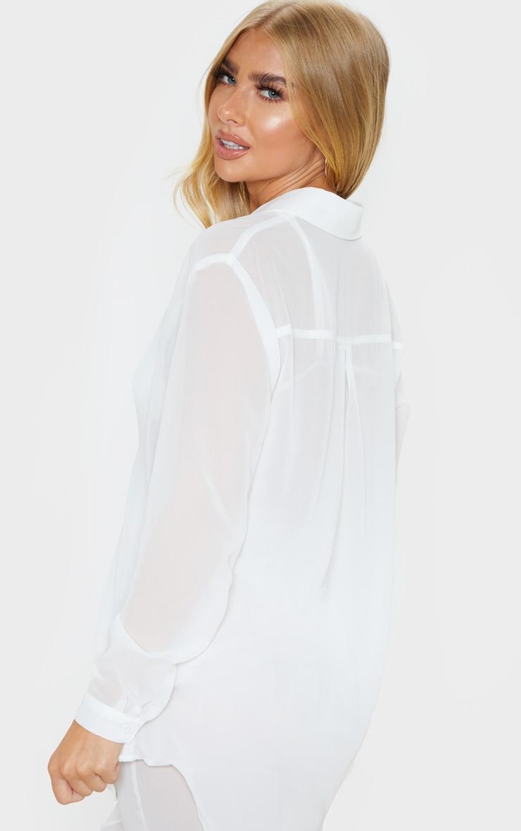 White Beach Shirt 2