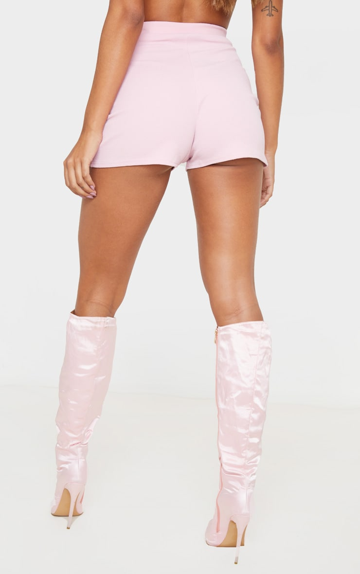 Pink Suit Shorts 5