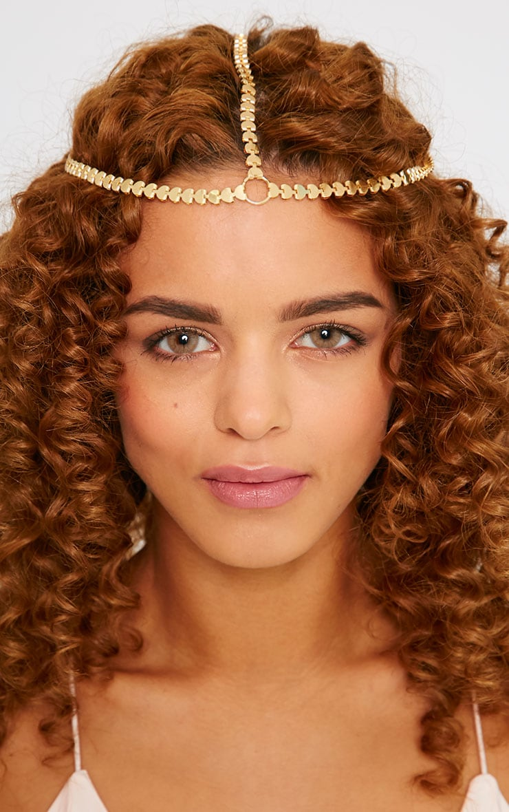 Delila Gold Head Piece 2