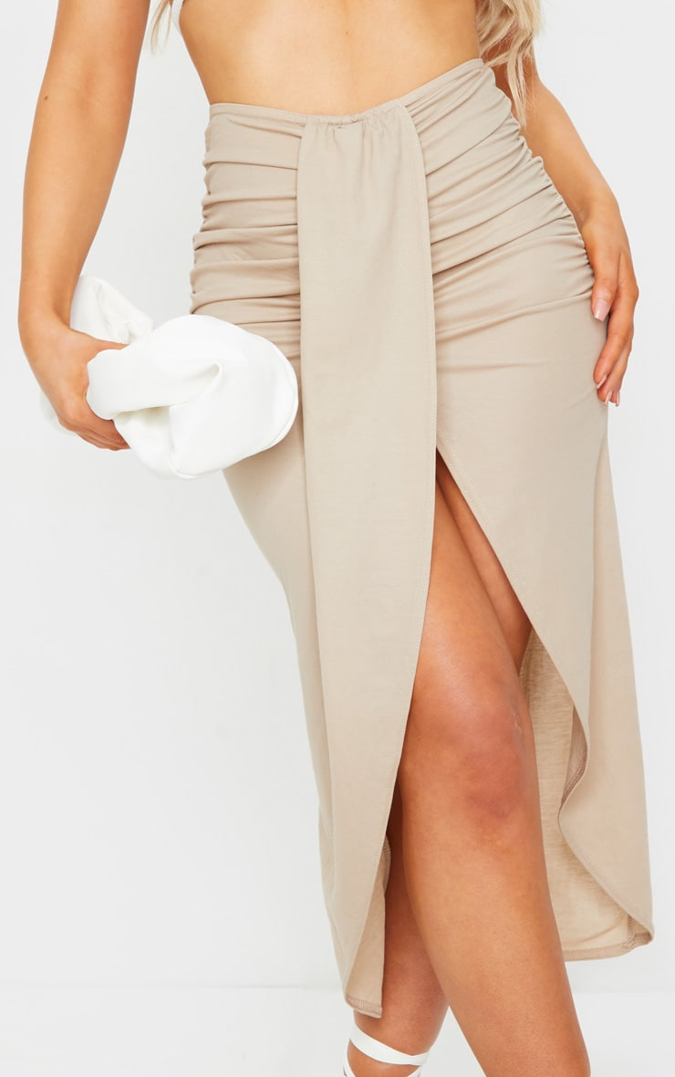 Stone Knot Front Wrapped Sarong 5