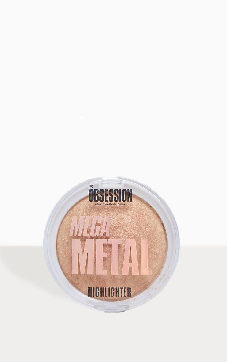 Makeup Obsession Mega Metal Highlighter 1