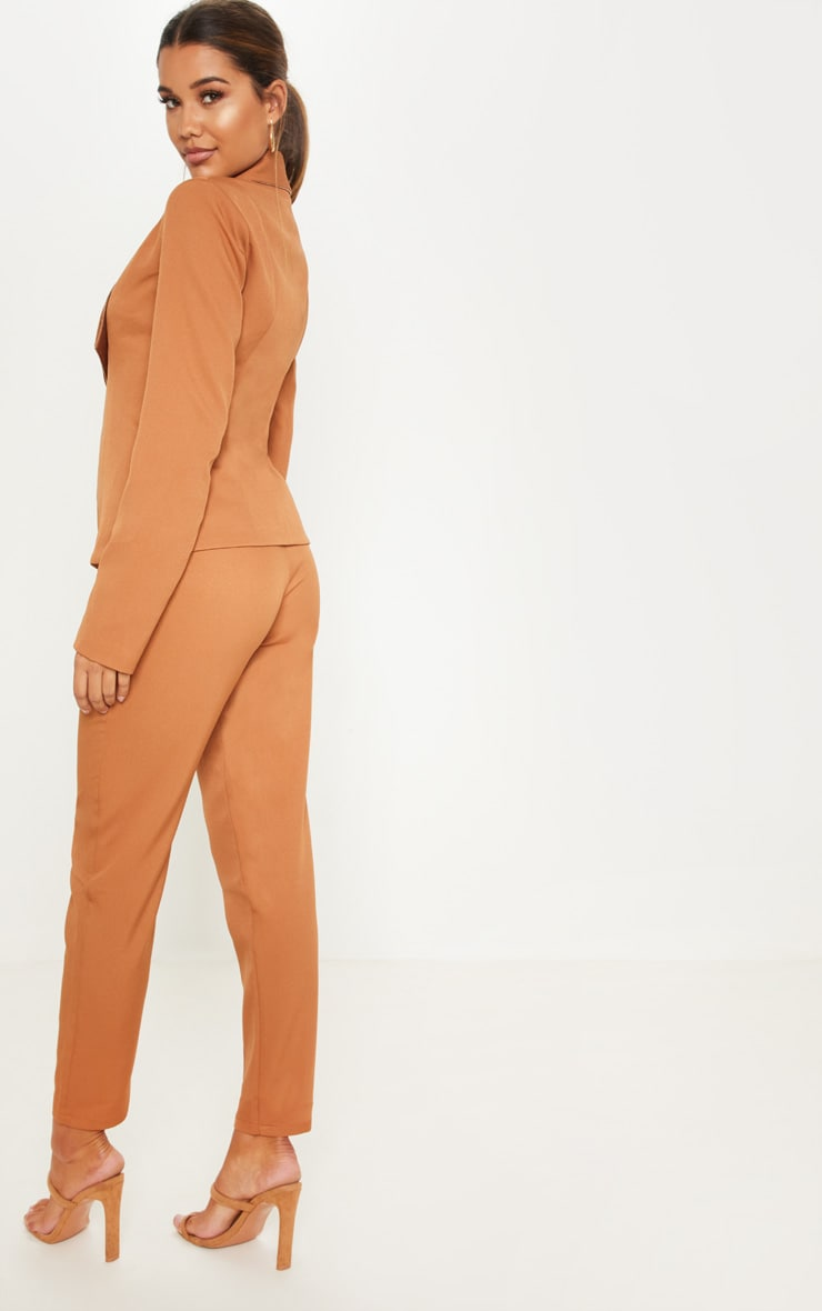 Camel Suit Jacket 2
