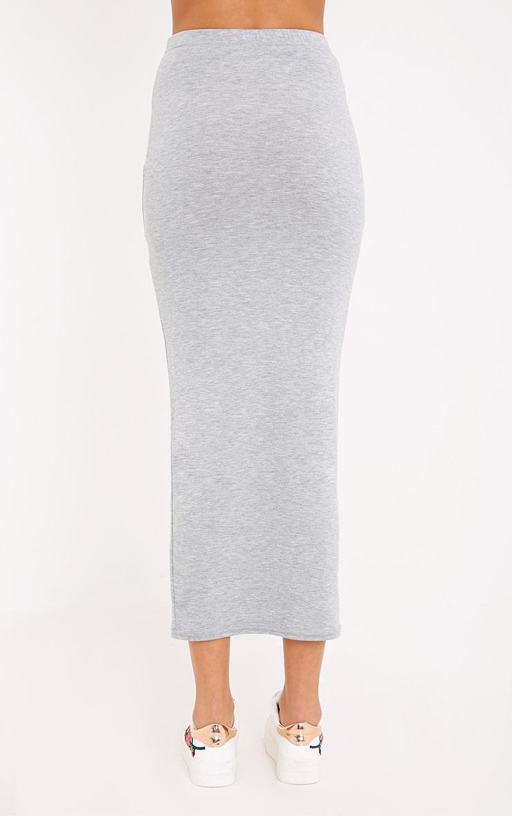 Basic Black & Grey Jersey Midaxi Skirt 2 Pack 4