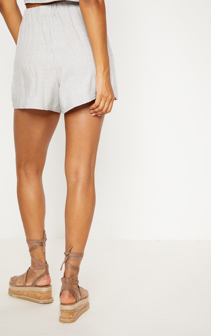 Pale Grey Lightweight Short 4
