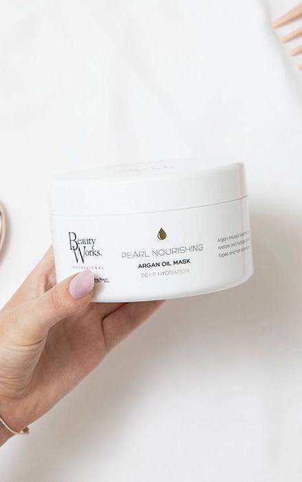 Beauty Works - Masque capillaire à l'huile d'argan Pearl Nourishing - 500 ml 4