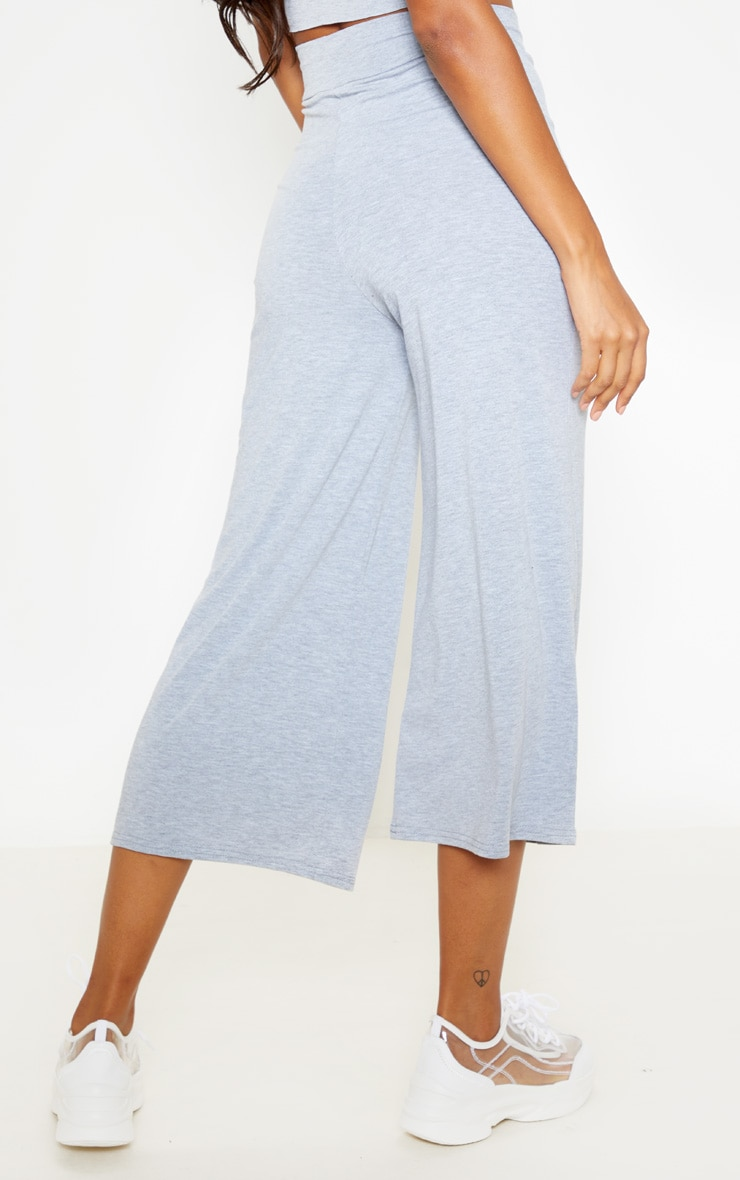 Black And Grey Basic Culotte 2 Pack 4