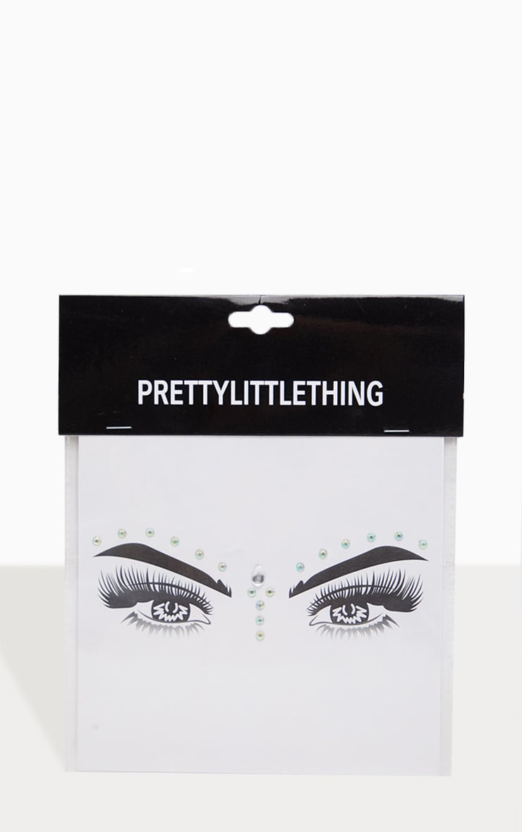 PRETTYLITTLETHING Crystal Wanderer Festival Face Jewels 2