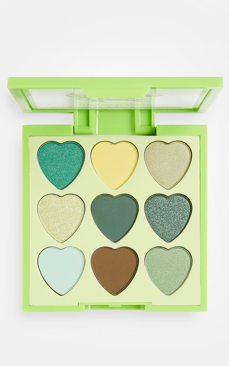 I Heart Revolution Heartbreakers Eyeshadow Palette Lucky 1