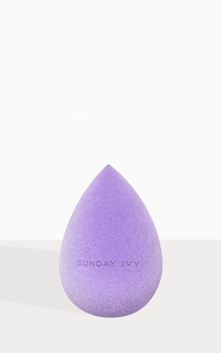 Sunday Ivy Purple Rain Microfibre Velvet Beauty Blender 2