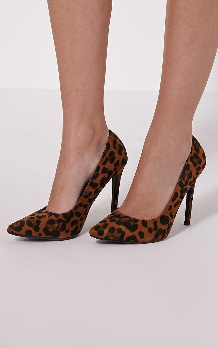 Tina Leopard Court Shoes 1