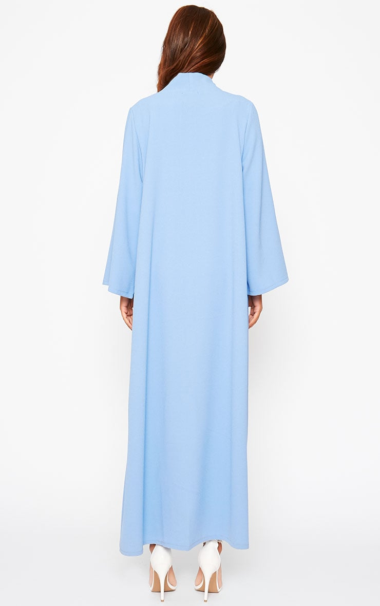 Robin Powder Blue Maxi Duster Coat 2