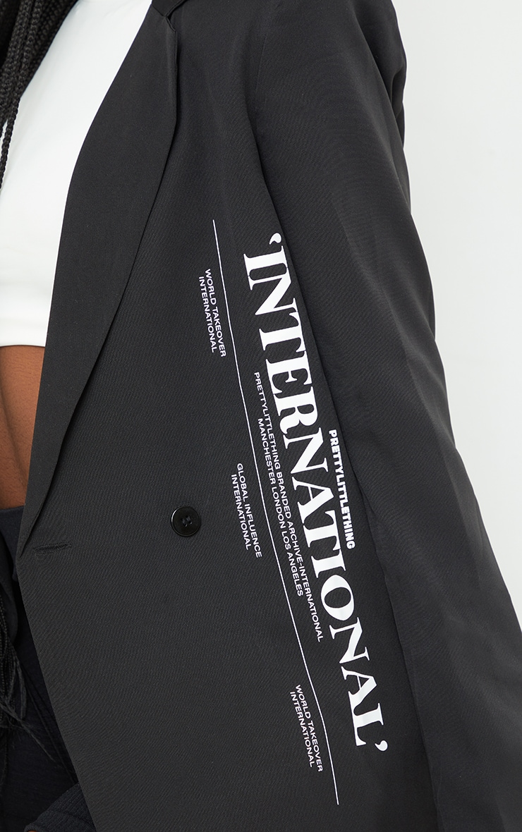 Tall Black International Blazer 4