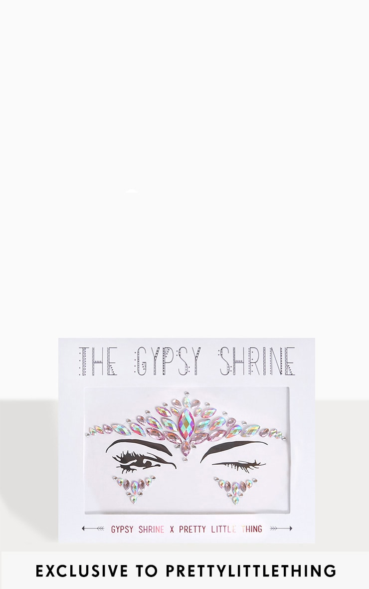PRETTYLITTLETHING X THE GYPSY SHRINE FACE JEWEL 1