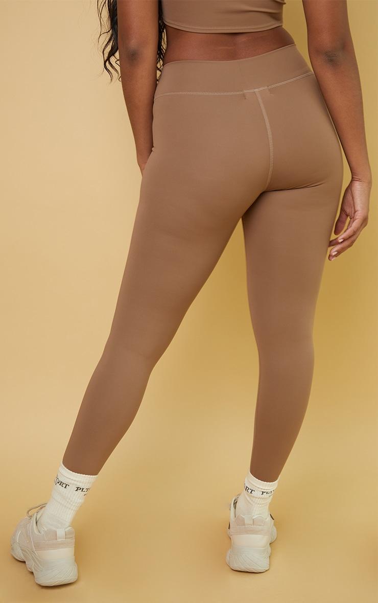 Mocha High Waist Gym Legging 3