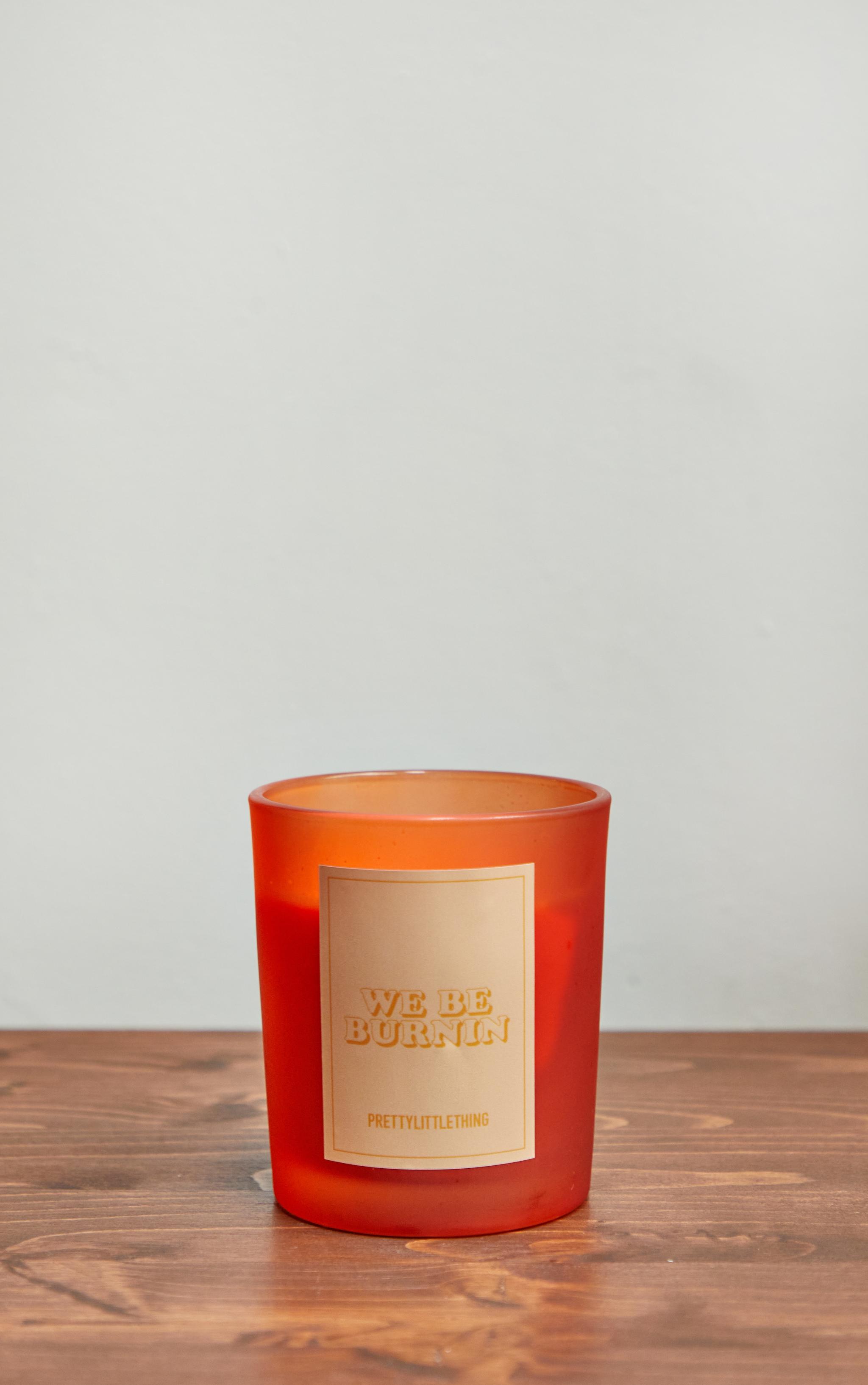 We Be Burnin' Orange Scented Candle 3