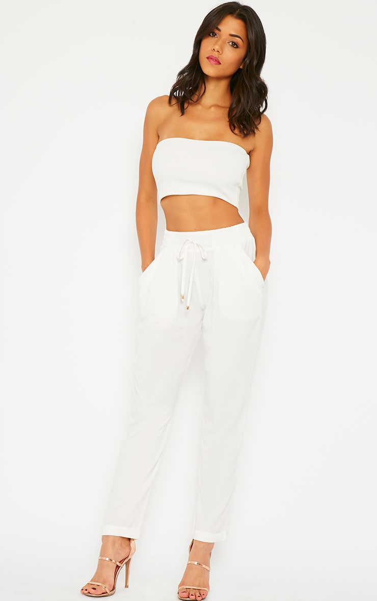 Hilda Cream Trousers 1