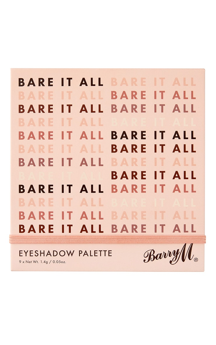 Barry M Bare It All Eyeshadow Palette 2