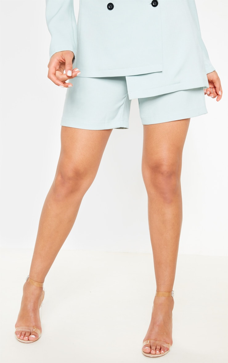 Mint Suit Short  2