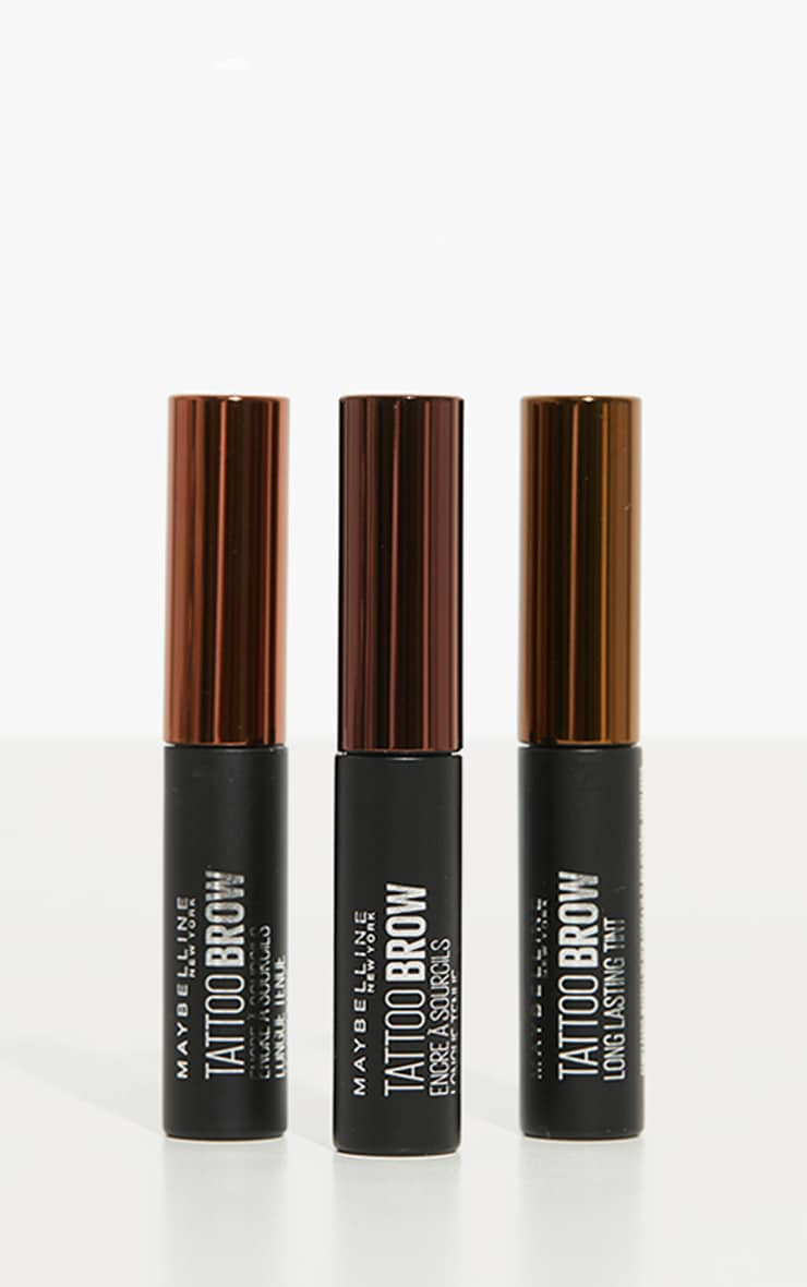 Maybelline Tattoo Brow Longlasting Gel Tint Light Brown 4