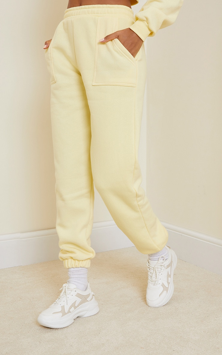 Lemon Pocket Cuffed Joggers 2