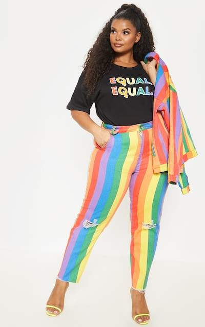 98980e99f Pride Outfits | LGBT T-Shirts & Clothing | PrettyLittleThing