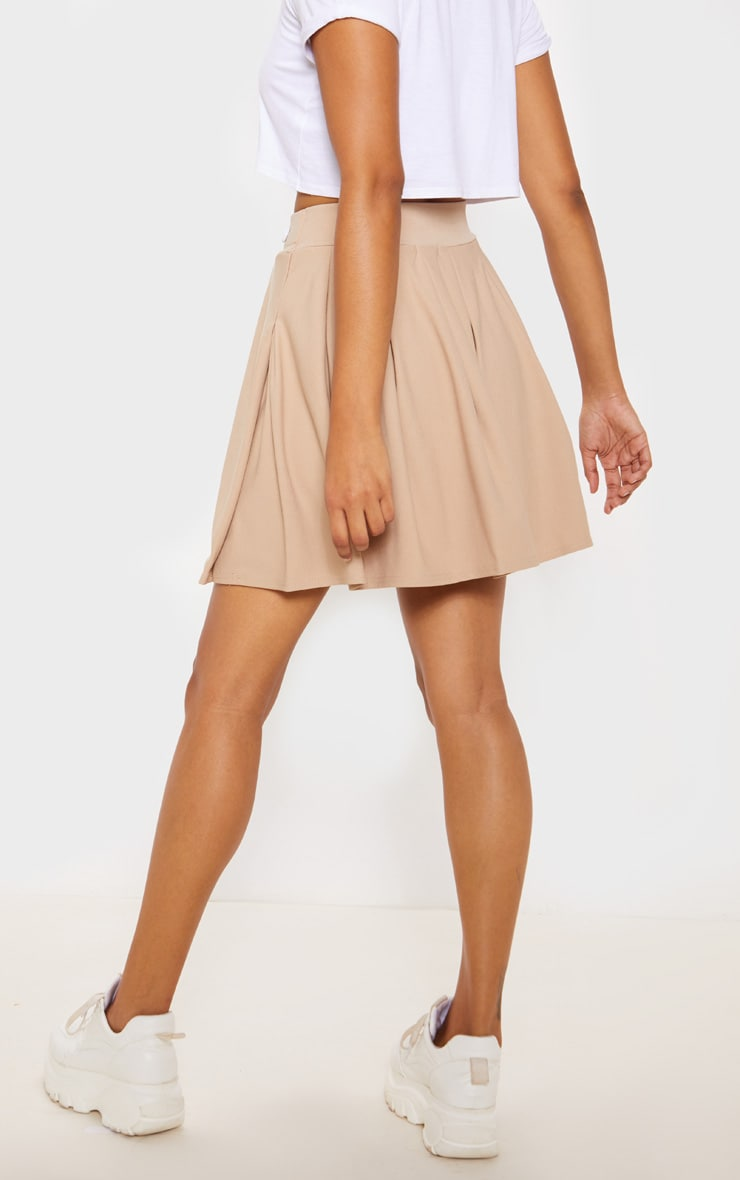 Stone Pleated Tennis Skirt 4