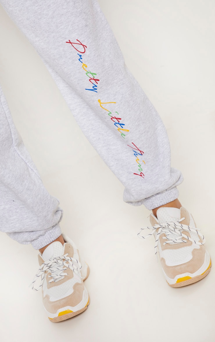 PRETTYLITTLETHING Grey Multi Joggers 5