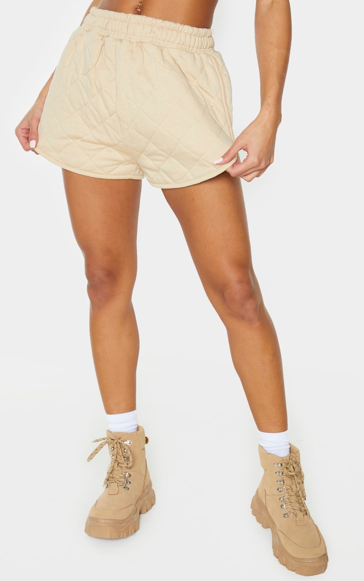 Stone Quilted Runner Short 2
